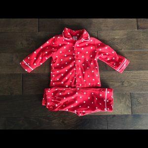 12-18 Month Girls Fleece Pajamas